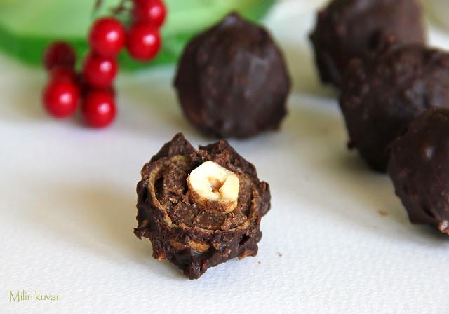 Home made Ferrero Rocher