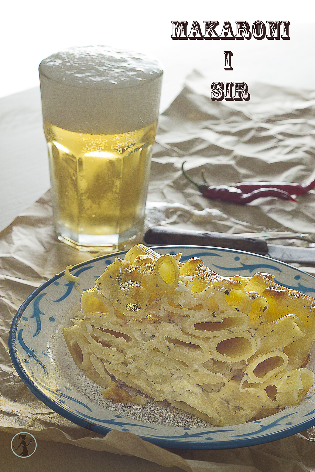Zapečeni makaroni sa sirom