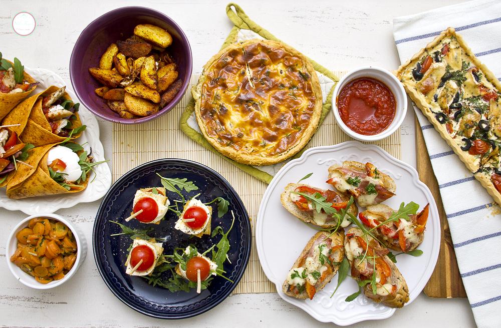 Kratki osvrt na 2012. i tart sa čeri paradajzom, crnim maslinama i Brie sirom