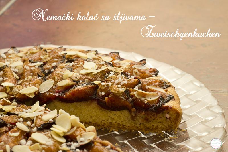 Nemački kolač sa šljivama