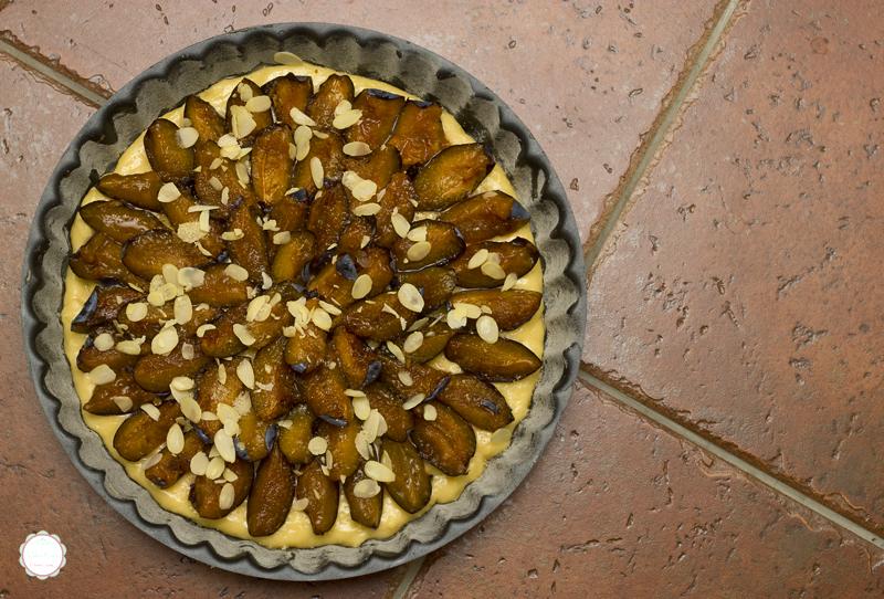 Plum cake spreman