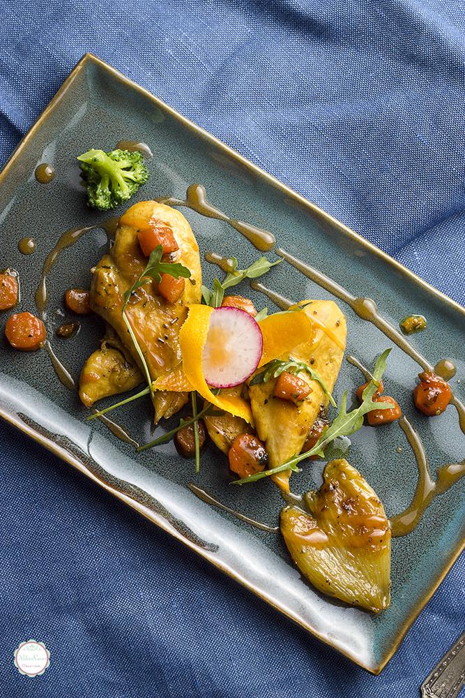Piletina sa Cointreau likerom, pomorandžom i ruzmarinom