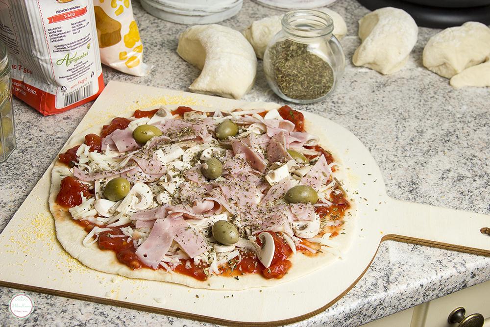 pizza pre pečenja