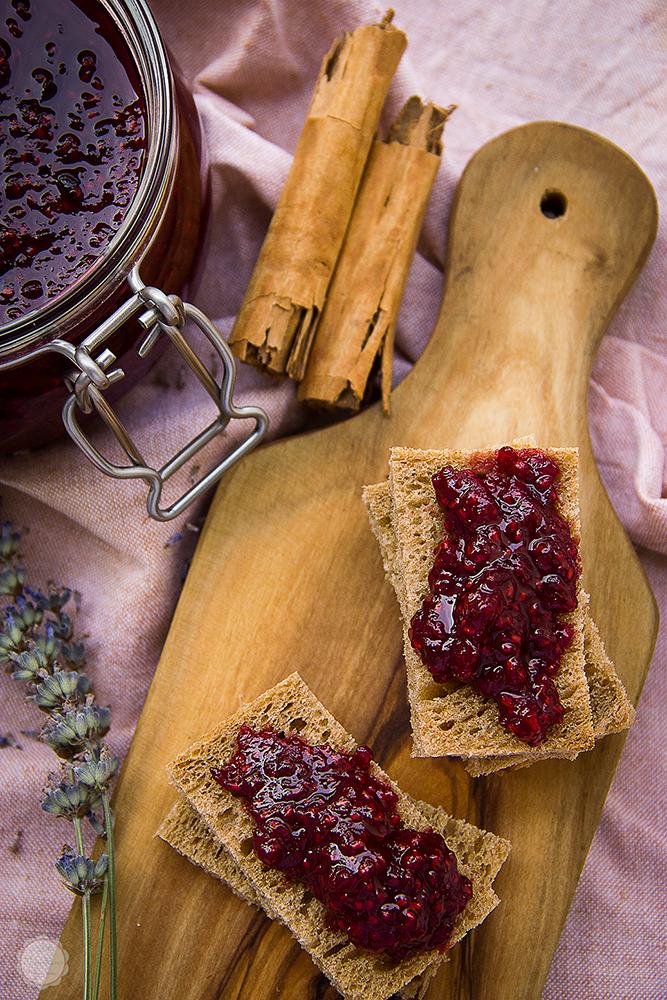 Džem od malina sa lavandom i cimetom