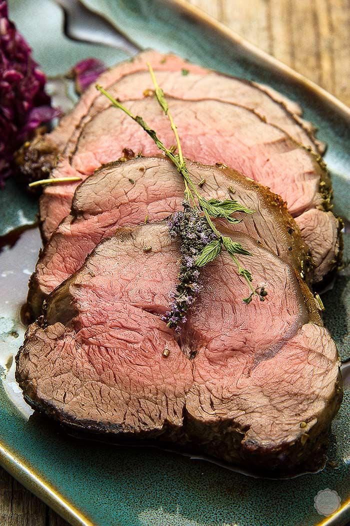 Zapečeni biftek sa mentom