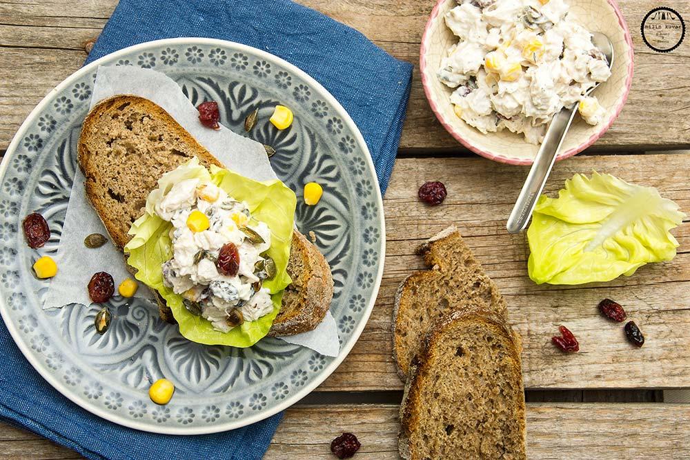 {Za magazin JOY} Pileća salata sa brusnicama