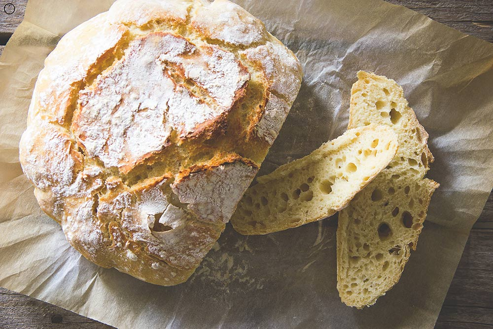 Domaći rupičasti hleb