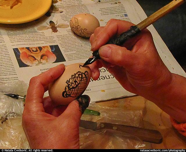 vosak na jajima