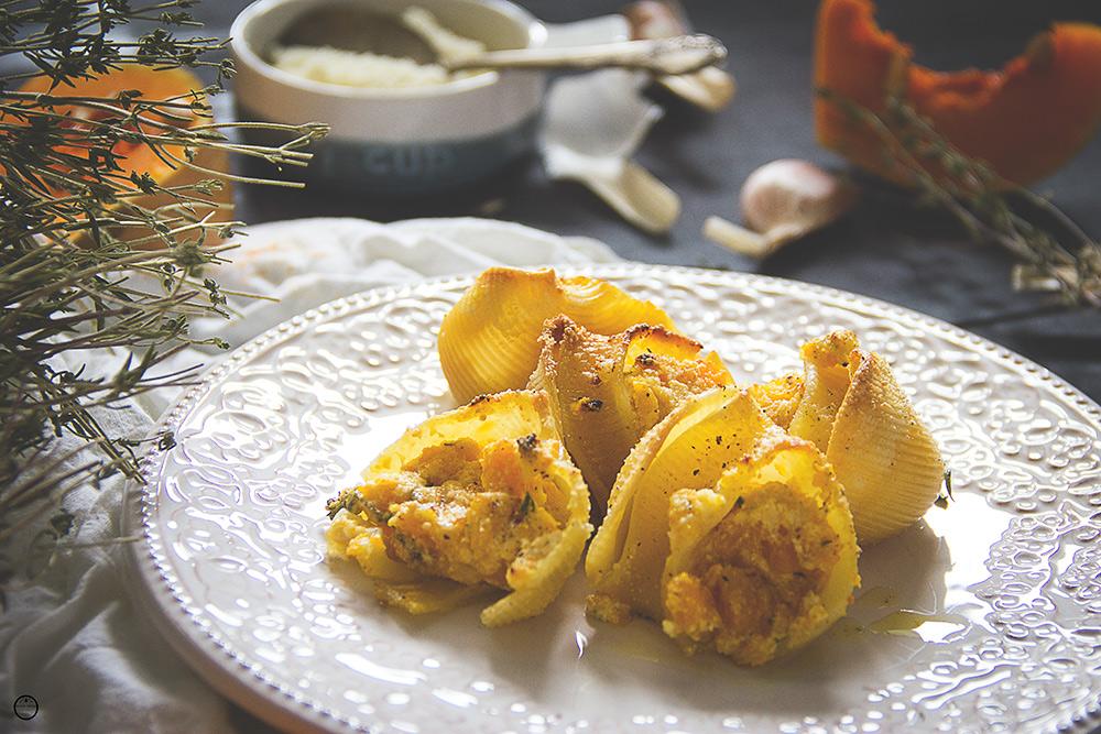 Školjke sa rikotom i bundevom