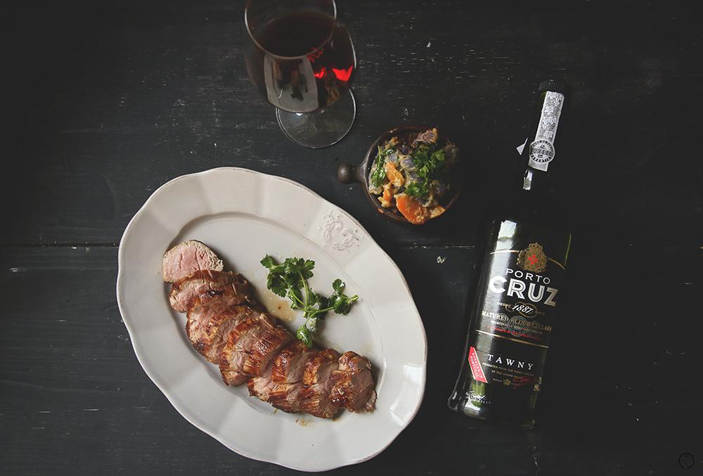 Teleći biftek u glazuri od Porto vina i džema od kajsije