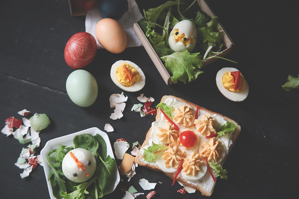 4 ideje kako da iskoristite kuvana jaja za decu