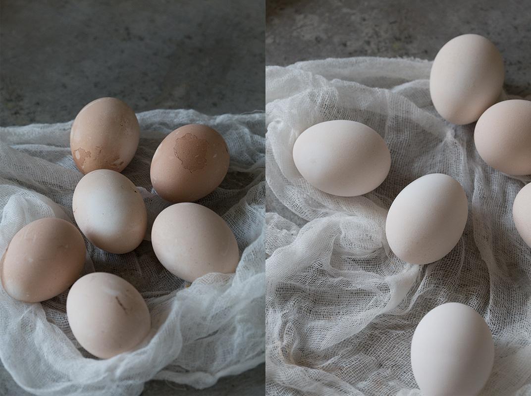 Kako da izbelite jaja
