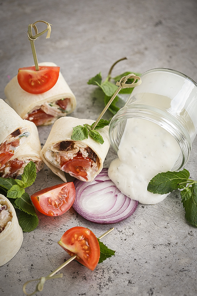 tortilje sa grčkom salatom