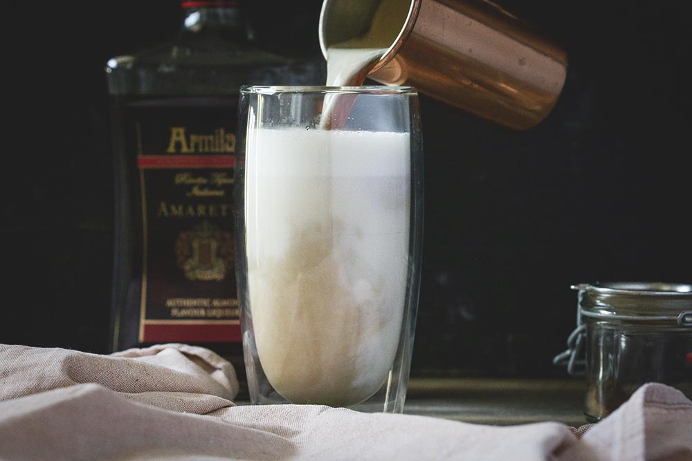 latte amaretto