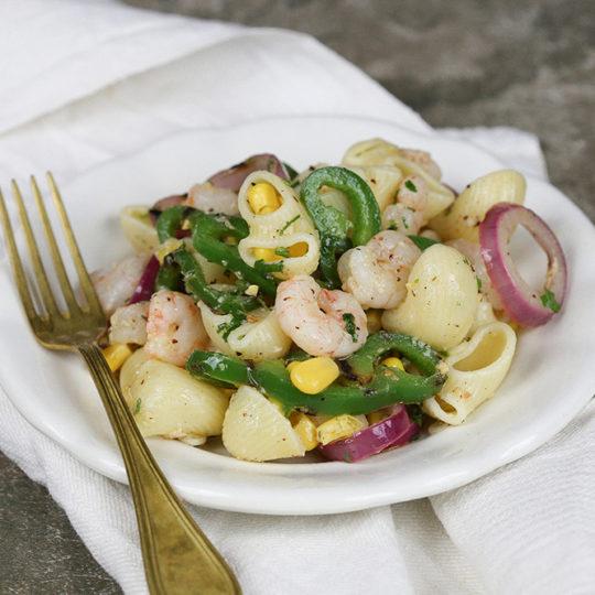 Salata sa gamborima i grilovanim povrćem