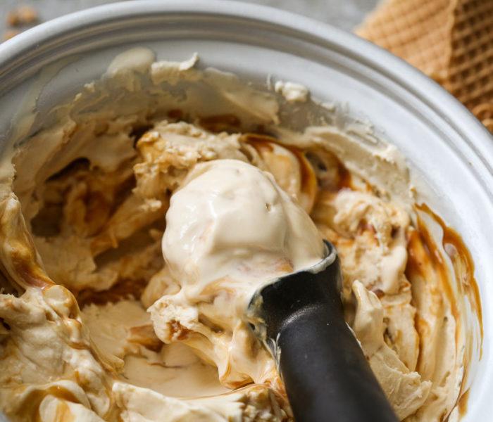 Sladoled od maskarpone sira i karamele