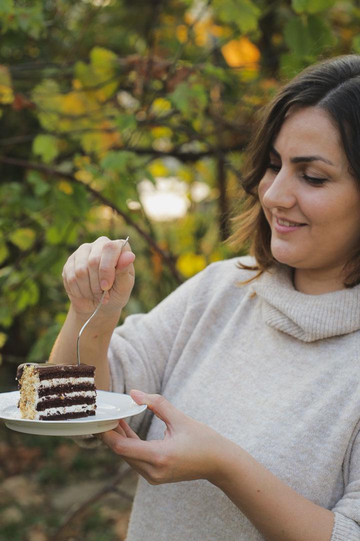 Torta sa lešnikom i maskarpone sirom