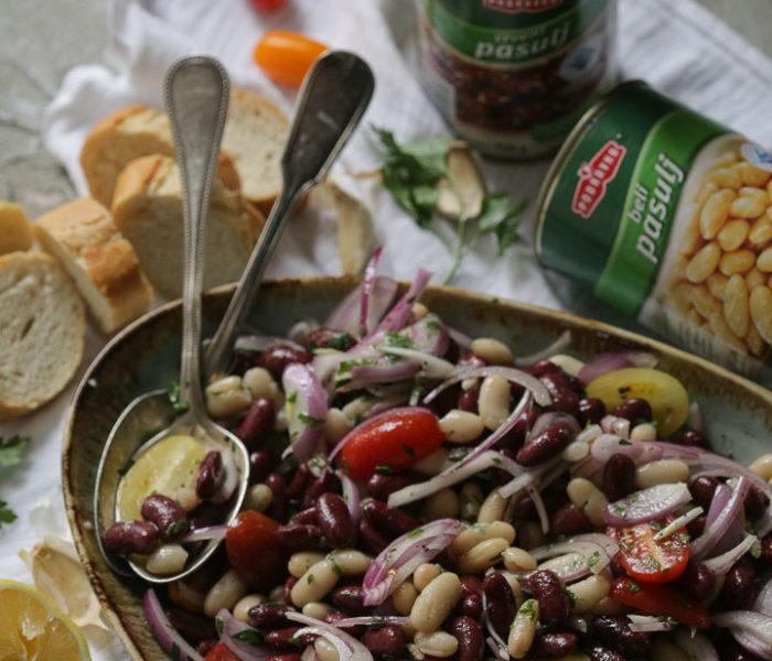 Jednostavna salata od pasulja