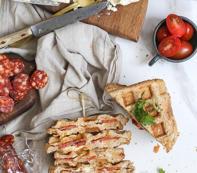 Vafl sendvič za doručak