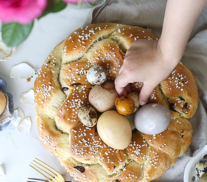 Slatki hleb sa brusnicom