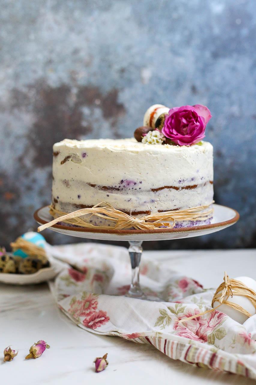Torta sa borovnicama i belom čokoladom