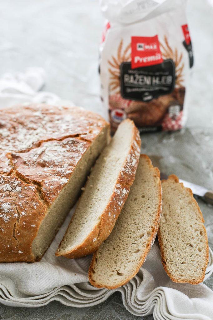 razani hleb koji se ne mesi