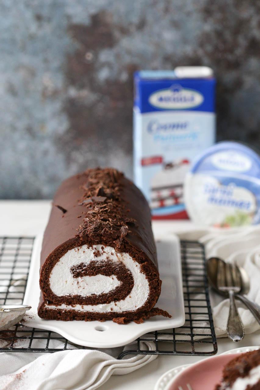 Čokoladni rolat – Swiss roll