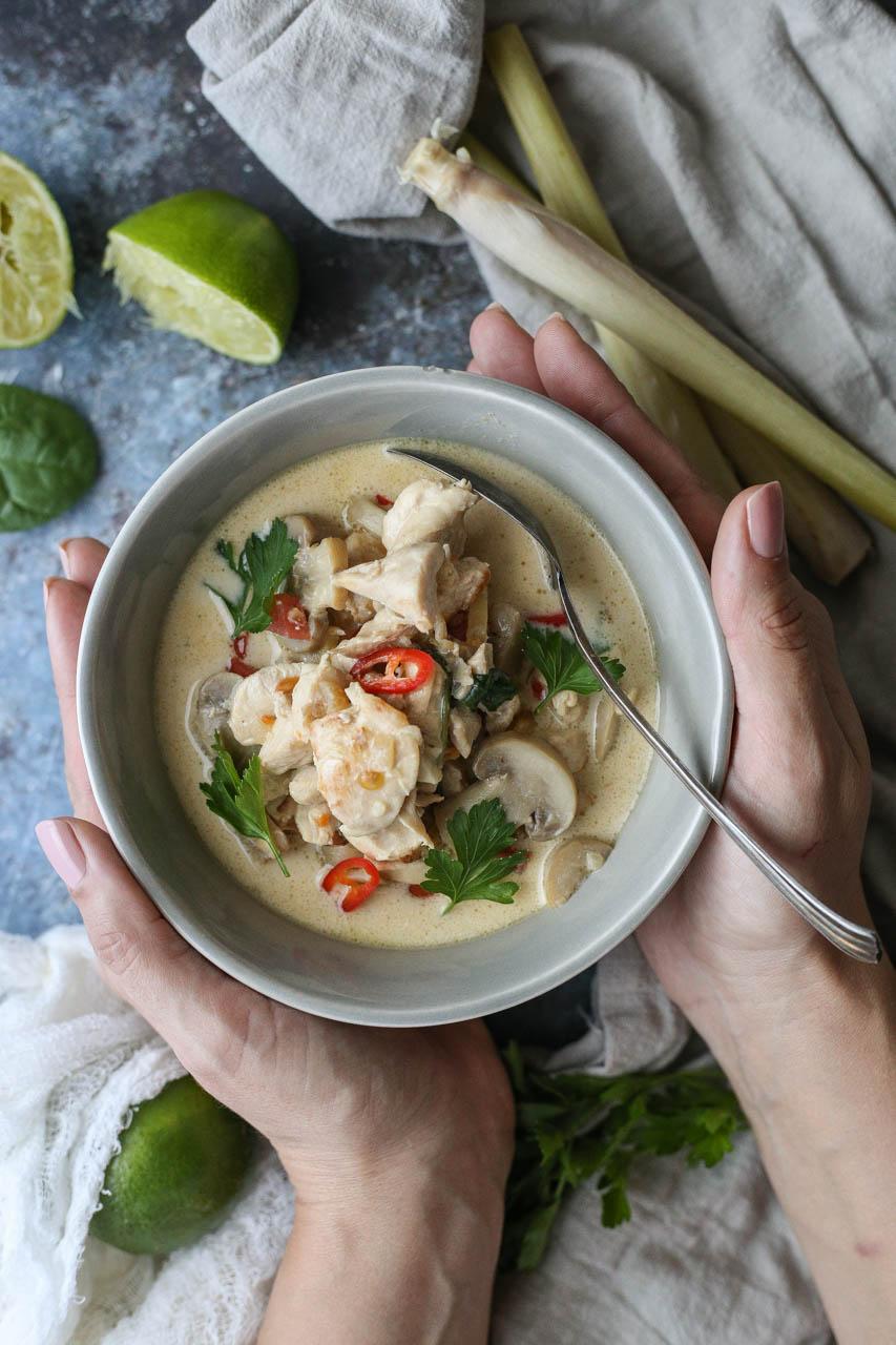 Tajlandska supa sa kokosovim mlekom – Tom Kha Gai