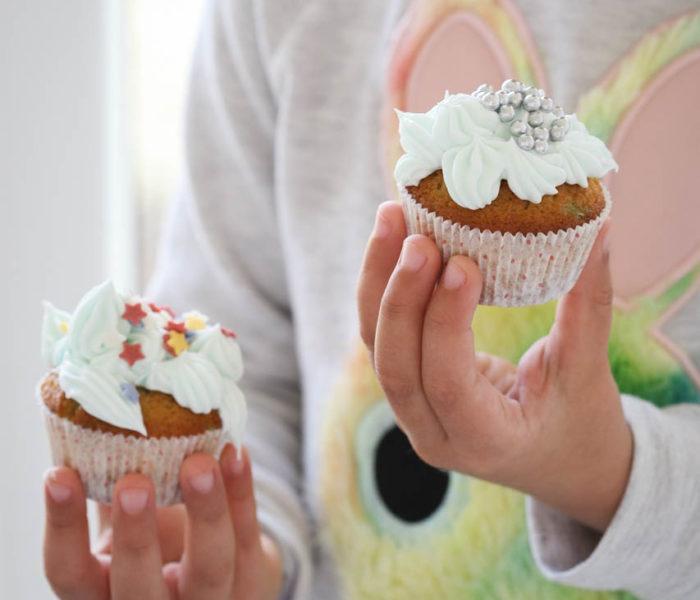 Cupcakes sa šarenim mrvicama