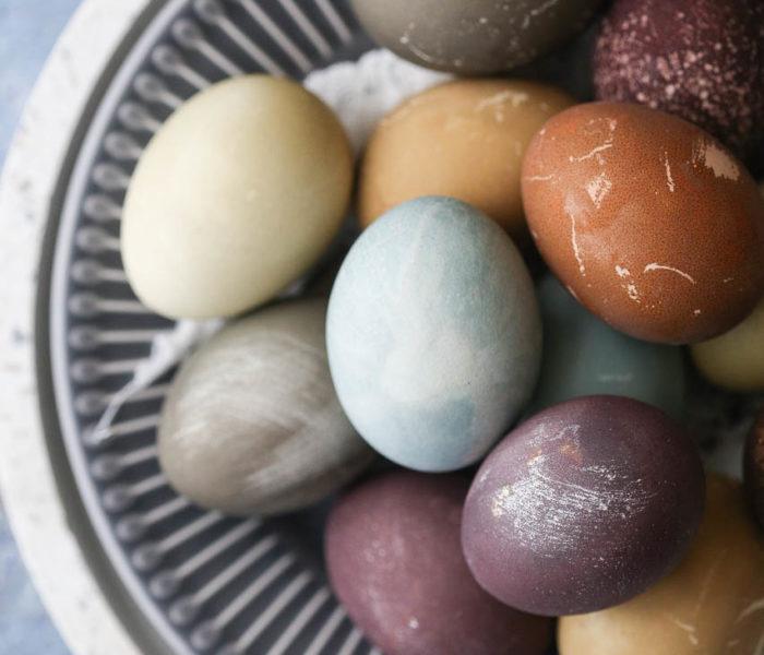 Farbanje jaja na prirodan način