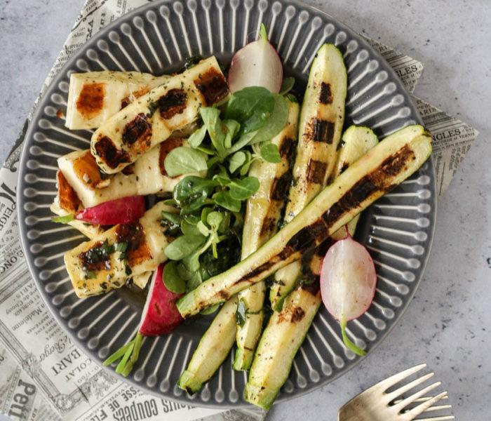 Obrok salata sa grila
