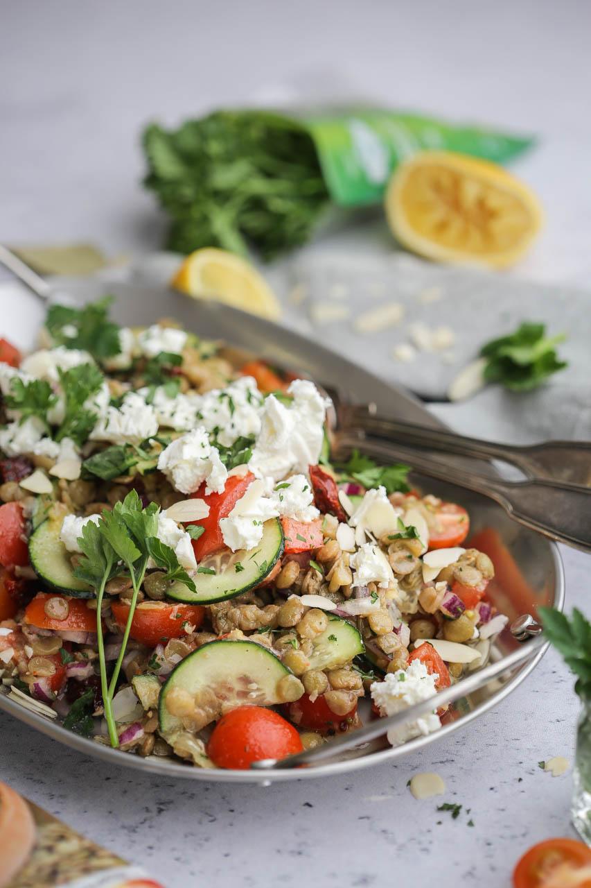 Hladna salata sa sočivom